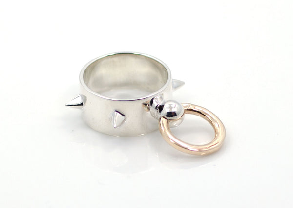 The TWO-TONE Roni Door Knocker Ring