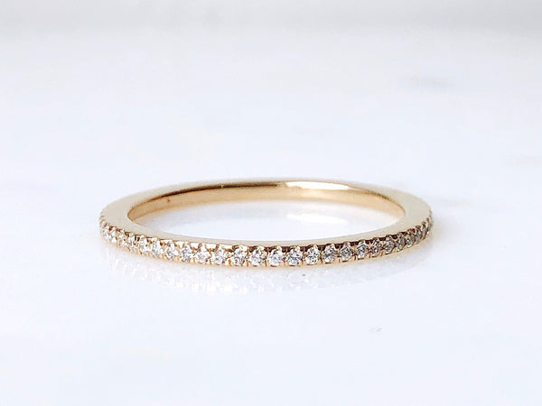 Scully Ring - Pavé Diamond Eternity Band