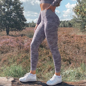 Fit2Gym™ Camo Running Leggings - Fit2Gym