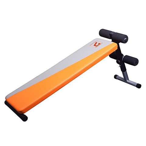 LIVEUP ADJUSTABLE FITNESS SIT-UP BENCH