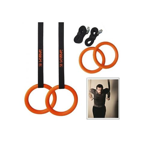 LIVEUP Sports Gymnastic Rings LS3675