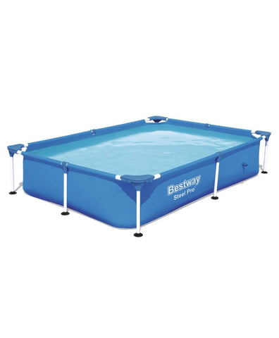 BESTWAY STEEL PRO POWER PRO FRAME POOL 2.21MX1.50M 56401