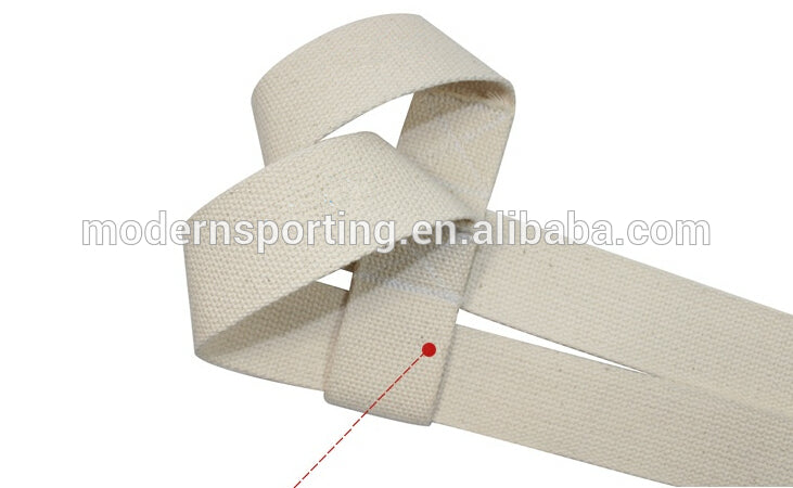 MDBUDDY 5057 LIFTING STRAPS WHITE