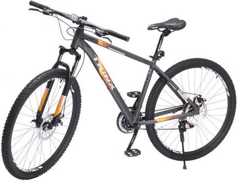 TRINX M136 PRO BICYCLE WITH 21 SPEEDS, 29 INCHES, GRAY & ORANGE- NEW 2021