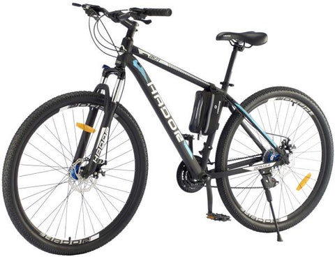 HADOR OX21 MOUNTAIN BICYCLE, 21 SPEEDS, BLACK & BLUE