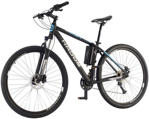 HADOR OX30-1 MOUNTAIN BICYCLE, 30 SPEEDS, BLACK & BLUE