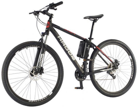 HADOR OX30-1 MOUNTAIN BICYCLE, 30 SPEEDS, BLACK & RED