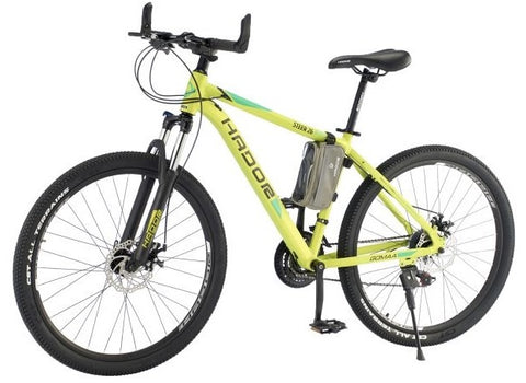 HADOR STEER 26 MOUNTAIN BICYCLE, 21 SPEEDS, GREEN- NEW 2021