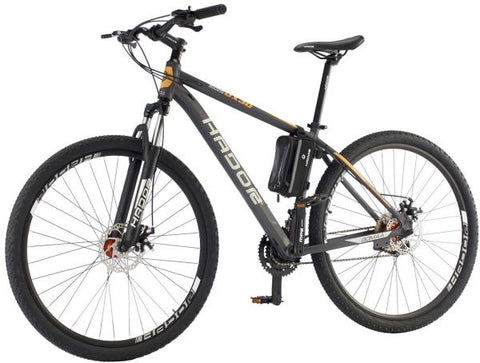 HADOR OX30-1 MOUNTAIN BICYCLE, 30 SPEEDS, BLACK & ORANGE