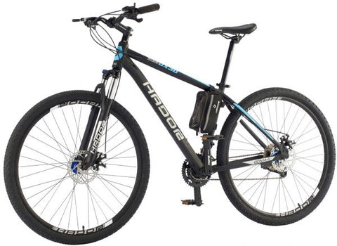 HADOR OX30 MOUNTAIN BICYCLE, 30 SPEEDS, BLACK & BLUE
