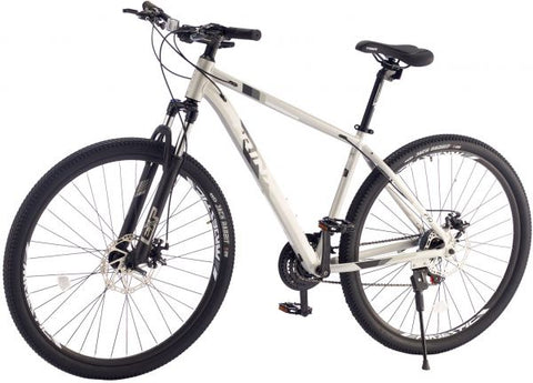 TRINX M136 PRO BICYCLE WITH 21 SPEEDS, 29 INCHES, SILVER- NEW 2021