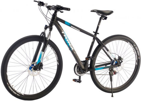 TRINX M136 Pro BICYCLE WITH 21 SPEEDS, 29 INCHES, GRAY & BLUE- NEW 2021