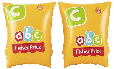 BESTWAY FISHER PRICE ABC ARMBANDS AGES 3-6 YEARS