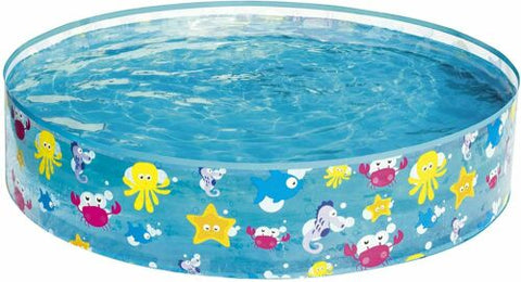 BESTWAY FILL-N-FUN PADDLING POOL - 48 X 10 INCHES