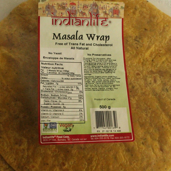 MASALA Wraps 5 PACK