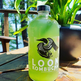 LOON KOMBUCHA Sour Apple