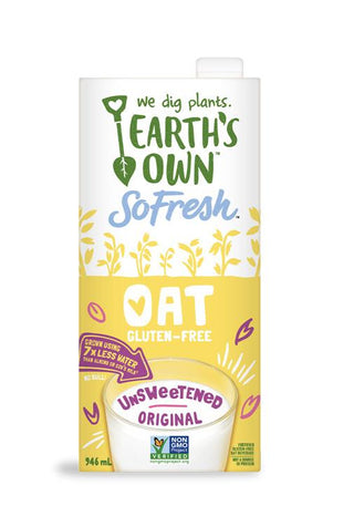Earths Own OAT Milk - Unsweetened- Tetra