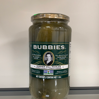 Bubbies- Kosher Dill Pickles