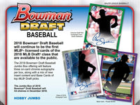 2018 BOWMAN DRAFT JUMBO FULL CASE PYT #19 - ALL CARDS SHIP!! *