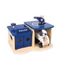 2728 Police Station with Vehicle