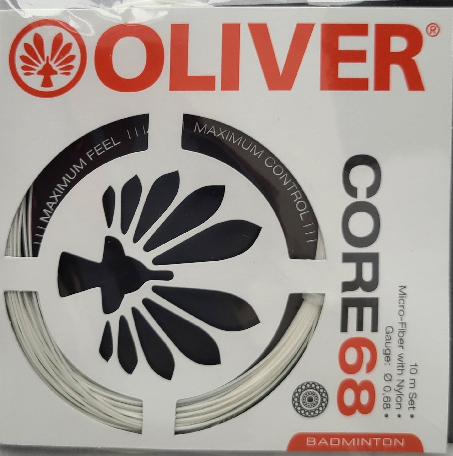 BADMINTON STRINGS - Core 68 (11m, Single)