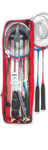 BADMINTON SET (4 Racket, Net, Pole, 2 Birds) (COMING SOON)