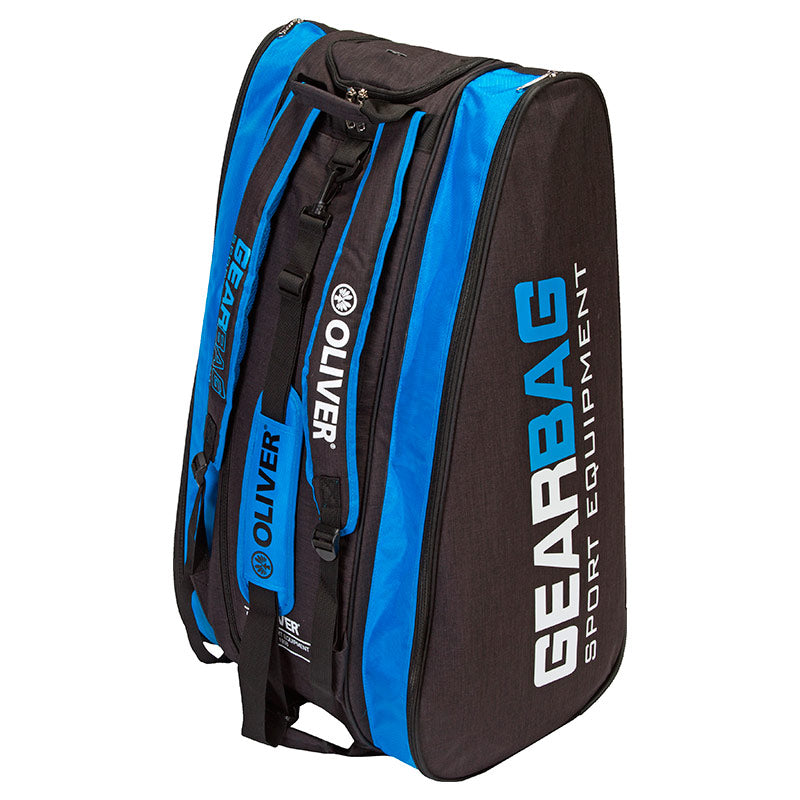 GEARBAG - (3 Comp.) Black-Blue
