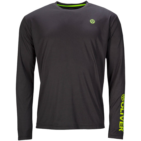 Active Shirt Long Sleeve (Grey)