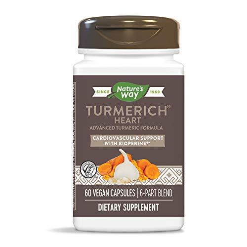 Nature's Way TurmeRich Heart Advanced Tumeric Formula, 60 Capsules