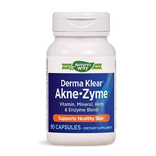 Enzymatic Therapy Derma Klear Akne-zyme, 90 Capsules