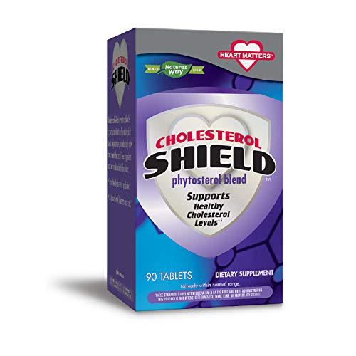 Enzymatic Therapy Cholesterol Shield 90 tabs (05519)