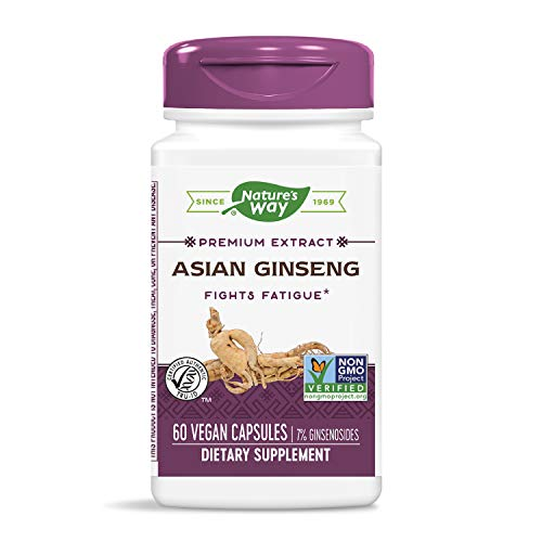 Nature's Way Ginseng, Asian Standardized (Packaging May Vary)