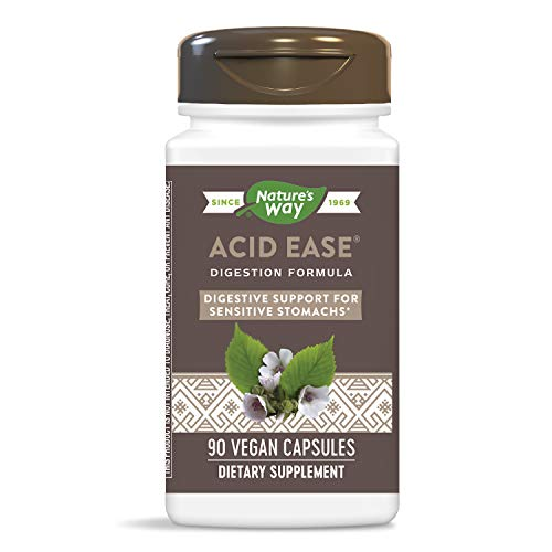 Nature's Way Acid-Ease, digestion formula for sensitive stomachs, 90 Vcaps