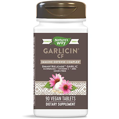 Nature's Way Garlicin CF, 90 Tablets