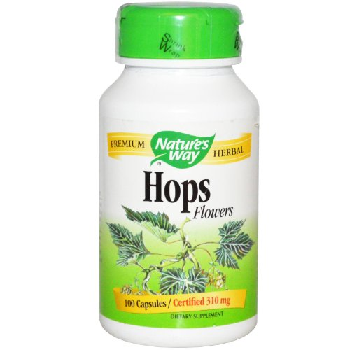 NATURE'S WAY, Hops Flowers - 100 caps