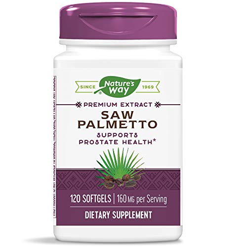 Nature's Way Saw Palmetto Standardized Extract Prostate Health, 160 mg per serving, 120 Softgels