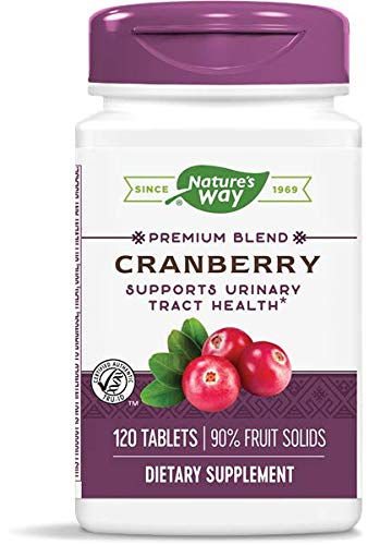 Nature's Way Premium Potency Standardized Cranberry 90% Fruit Solids, 120 Count