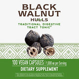 Nature's Way Black Walnut Hulls, 1,000 mg per serving, 100 Vegetarian Caps (Packaging May Vary)