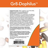 NOW Foods Gr8-Dophilus™with 8 Strains & 4 Billion Potency, Shelf Stable, 120 Veg Capsules