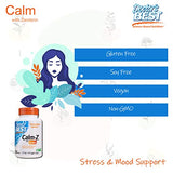 Doctor's Best Calm with Zembrin, Calm, Stress & Mood Support, 25mg Veggie Caps, 60Count (DRB-00456)