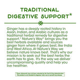 Nature's Way Premium Herbal Ginger Root, 1,100 mg per serving, 240 Capsules