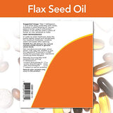 NOW Foods Certified Organic Flax Seed Oil Liquid, Cold-Pressed and Unrefined, 12-Ounce