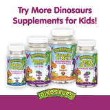 KAL Kid's MultiSaurus Vitamins & Minerals | Mixed Berry Flavor | Children's Once Daily Multivitamin | 90 Chewables