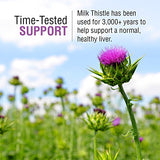 Solaray Milk Thistle Seed Extract One Daily 350mg | Antioxidant Intended to Help Support a Normal, Healthy Liver | Non-GMO & Vegan | 60 VegCaps