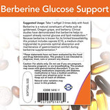 NOW Foods 1418 NOW Foods Berberine Glucose Support, Combined with MCT Oil for Optimal Berberine Absorption, 90 Softgels