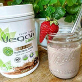 Vegan Smart- 2 Pack Chocolate & Vanilla Organic Plant Based Protein Powder | Delicious Vegan Protein Powder - Gluten Free, Dairy Free & Soy Free