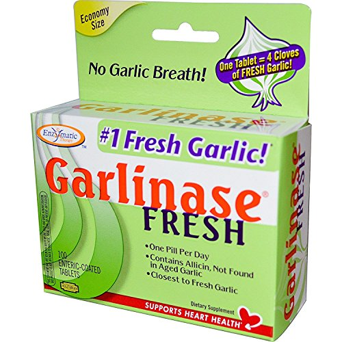 Enzymatic Therapy - Garlinase FRESH 100 tabs (Pack of 2) [Health and Beauty]