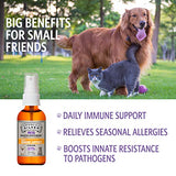 Sovereign Silver Bio-Active Silver Hydrosol for Pets Immune Support – Fine Mist, 2 oz.