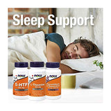 NOW Foods 5-HTP (5-hydroxytryptophan) 100 mg, Neurotransmitter Support, 120 Veg Capsules