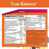 NOW Foods True Balance, a Multi-Vitamin, Multi-Mineral Supplement including Biotin, 120 Capsules